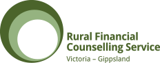 Rural Financial Counselling Service Victoria – Gippsland Logo